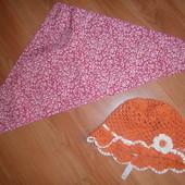 Летние головные уборы для девочки.