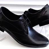 Мужские туфли Классика Кожа и замша