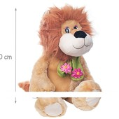 Львёнок сидящий 40см