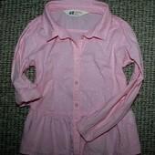 Блузка H&M на 4-5 год