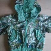 Куртка (ветровка) на 1,5-2 года