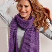 Красивый ажурный шарф шаль от TCM Tchibo Германия