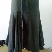 Теплая юбка zara basic
