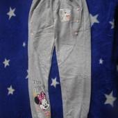 Спортивные штанишки для девочки с начесом