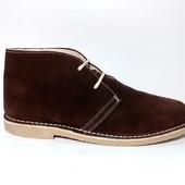 Зимние замшевые ботинки для мужчин. Испания jam