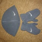 отличный комплект рукавички и шапка для малыша от Nike