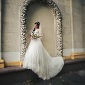 Продам свадебное платье б у в очень хорошем состоянии