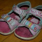 Фирменные босоножки сандалики с свинка Пеппа пеппа пиг Peppa Pig оригинал