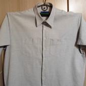 рубашка большой размер  (ворот 45/46)