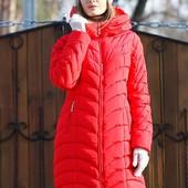 Пальто Корнелия 2 красный, мята, крем, т.синий