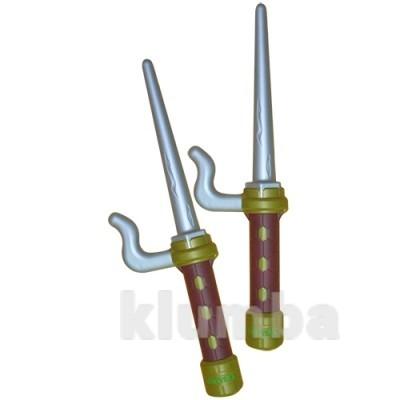 Игрушечное оружие серии черепашки-ниндзя soft - тренировочные кинжалы-сай рафаэля фото №1