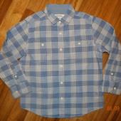 Рубашка в клетку 6 лет