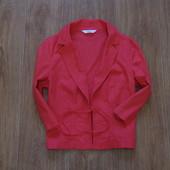 Яркий и стильный льняной пиджачок от Marks&Spencer, размер 14. Состояние новой вещи.