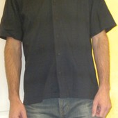 156 Темно-синяя рубашка с коротким рукавом Cerokee (м)