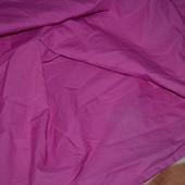 Простынь чехол c рюшами полуторная постельное белье в детскую фуксия Некст Next