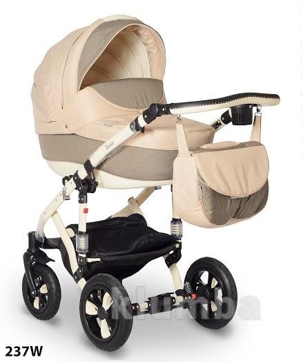Универсальная коляска Bebe-Mobile Toscana 237W, бежевый с коричневым фото №1