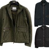 легкая мужская осенняя куртка стеганная