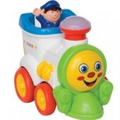 Развивающая игрушка - Веселый паравозик