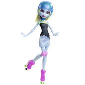 кукла Monster High Abbey Bominable серия Skultimate roller maze монстер хай эбби боминейбл ролики