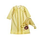Крестильная рубашка и чепчик для мальчика 60675