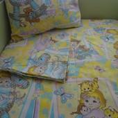 Постельное белье в кроватку (поплин)100% хлопок