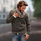 Твидовый свитер кардиган Тсм Германия р 54-56