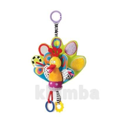 Развивающая игрушка-подвеска - павлин фото №1