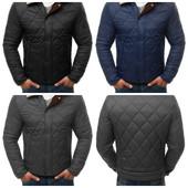 Стеганая мужская зимняя брендовая куртка