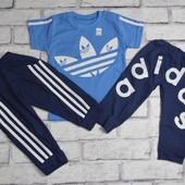 Детский костюм футболка бриджи на 2-3 г, 3-4 г, 4-5 лет, 5-6 лет, 6-7 лет
