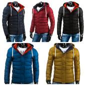 супер стильная яркая зимняя куртка мужская