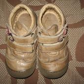 Черевики (ботинки) Brick 22 р. стелька 14 см. шкіра, супінатор