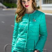 Женская стильная куртка Батал
