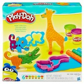 """Плей Дох  набор пластилина """"Веселое сафари"""" Play Doh  B1168"""