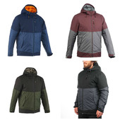 Куртка мужская зимняя Quechua snow hiking warm 500