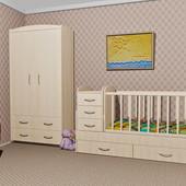 Супер стильный шкаф и кровать- трансформер Maya Oris. Детская комната. Киев