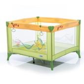 Манеж Mioo M100 Fish and Cancer зеленый/желтый