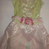 продам нарядное платье девочке Disney 5-6 лет рост 116см.