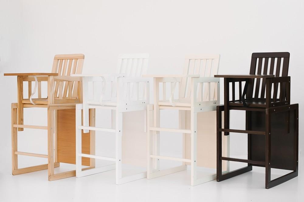 Деревянный стульчик для кормления фото №1