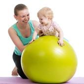 Мяч - фитболл 65 см диаметр для фитнеса фитбол, цвет на выбор