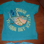 Классная  футболка на 2-3года