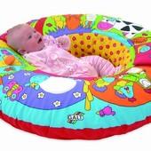 Развивающий коврик, манеж, гнездо, надувное кресло для малышей Джунгли, Galt
