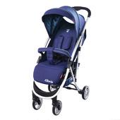 Детская прогулочная коляска carrello gloria (crl-8506 shadow blue) с капюшоном