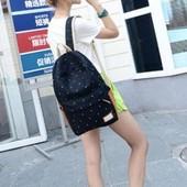 3-29 Молодежный рюкзак / Школьный рюкзак / Стильный / Вместительный / женский рюкзак