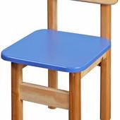 Детский деревянный стульчик цветной, Финекс (в ассортименте)