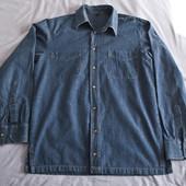 Рубашка джинсовая, мужская, р. L.