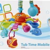 """Мобиль для ванной, игрушка карусель """"Морские обитатели""""- купание в радость))"""