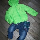 Яркие деми куртки по прошлогодней цене