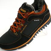 Ботинки на меху Splinter Biom низкие, р. 40-45, натур. кожа, код AK-Б10-14
