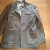 Кожаная куртка Yves Оригинал.