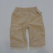 Штаники для маленького модника на котоновой подкладке, размер 4-6 месяцев, рост 68 см